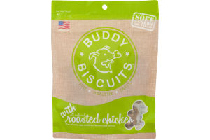 Cloud Star Buddy Biscuits Soft & Chewy Roasted Chicken