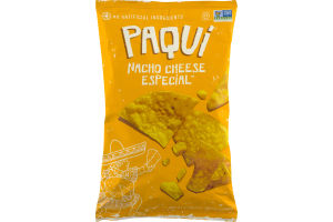 Paqui Nacho Cheese Especial Tortilla Chips