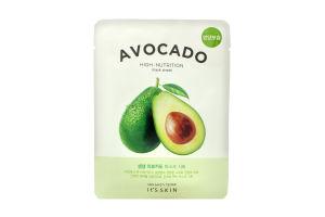Маска для обличчя тканинна Avocado It's Skin 21г