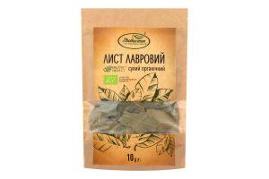 Лавровый лист сухой органический Любисток д/п 10г