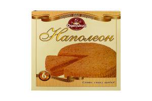 Коржі для торту Наполеон Одеський хлібозавод №4 к/у 6х70г