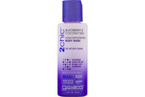 Giovanni 2chic Blackberry & Coconut Milk Ultra-Replenshing Body Wash