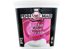Penn Maid Dairy Light Sour Cream