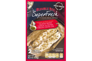 Bumble Bee SuperFresh Tilapia with Garlic and Extra Virgin Olive Oil - 2 CT