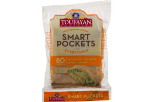 Toufayan Bakeries Smart Pockets Everything - 6 CT