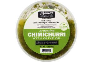 Mamo's Latin Flavors Argentine Chimichurri With Olive Oil