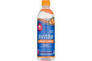 Avitae Caffeine + Water Purfied Water + 90mg Natural Caffeine Tangerine