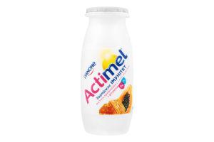 Продукт кисломолочный 1.5% Папайя-мед-прополис Actimel п/бут 6х100г