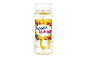 Мыльные пузыри для детей от 3лет №BB-18 Булька Bubble 145мл