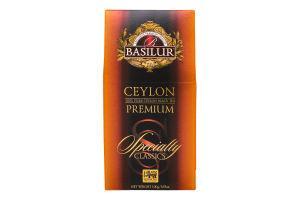 Чай черный Ceylon Premium Specially Classics Basilur к/у 100г