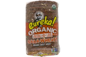 eureka! Organic Sweet Wheat Bread Saaa-Wheat!