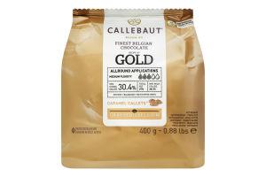 Шоколад 30.4% білий Gold Callebaut м/у 400г