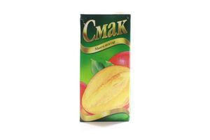 Нектар манго с мякотью Смак т/п 1л