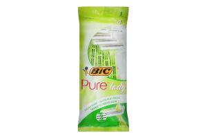 Станок для гоління жіночий одноразовий Pure Lady 3 BIC 4шт