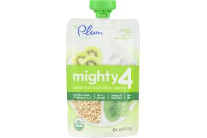 Plum Organics Mighty 4 Spinach, Kiwi, Barley Greek Yogurt