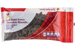 Ahold Real Semi-Sweet Chocolate Morsels