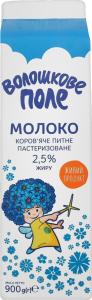 Молоко паст 2.6% Васильковое поле 0.92л