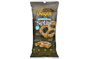 "Unique ""Splits"" Split-Open Pretzel Extra Salt"
