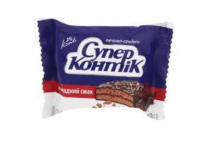 Печенье-сэндвич с шоколадным вкусом Супер-Контик Кonti м/у 50г