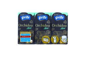 Платочки бумажные Grite Orchidea Mintcare/Eucalipt