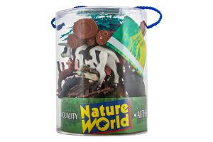 Набор игрушек для детей от 3лет №D33702 Домашние животные Wing Crown Plastic Products 1шт