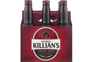 George Killian's Irish Red Beer Bottles - 6 CT