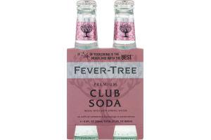 Fever-Tree Premium Club Soda - 4 CT