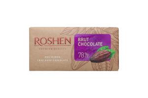 Шоколад черный Classic Brut Roshen 90г