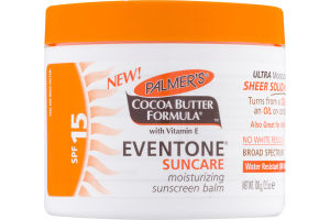 Palmer's Cocoa Butter Formula Eventone Suncare Moisturizing Sunscreeen Balm SPF 15