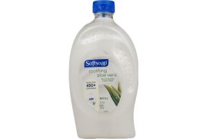 Softsoap Moisturizing Hand Soap Refill Soothing Aloe Vera