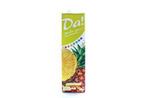 Напиток сокосодержащий ананасовый неосветленный Да! т/п 950мл