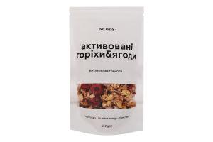 Гранола беззернова Активовані горіхи&ягоди Eat Easy д/п 250г
