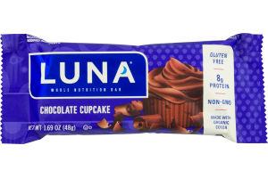 Luna Whole Nutrition Bar Chocolate Cupcake