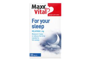 Добавка дієтична для вашого сну MaxxVital 30шт