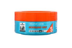 Воск для волос Modelling Wax Creative Look Taft 75мл