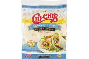 Chi-Chi's 100 Calorie Tortillas Fajita Style - 8 CT