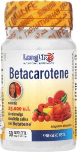 Добавка диет Long Life Бета каротин