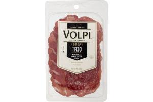 Volpi Trio Mortadella, Genova Salami, Coppa
