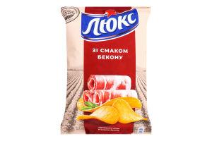 Чипсы картофельные Бекон Люкс м/у 133г