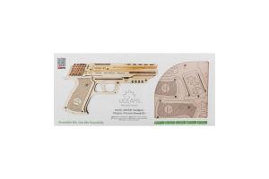 Модель механическая №70047 Пистолет Вольф-01 Ugears 62эл