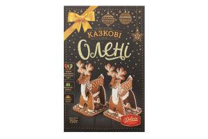 Печиво цукрове Казкові олені Delicia к/у 750г