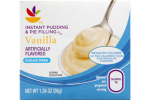 Ahold Instant Pudding & Pie Filling Vanilla Sugar Free