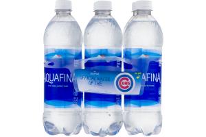Aquafina Purified Drinking Water - 6 PK