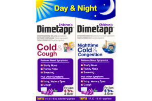 Dimetapp Children's Day & Night Grape Flavor - 2 CT