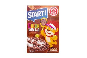 Завтраки сухие Шарики с какао Start! к/у 250г