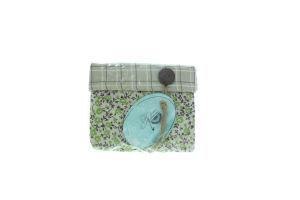 Прованс-Класік короб текстильний малий Квіти-Олива 12*15*15см