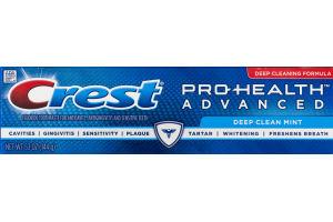 Crest Pro-Health Advanced Toothpaste Deep Clean Mint