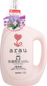 Жидкость для стирки детской одежды Saraya Arau, 1.2 л