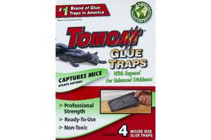 Tomcat Glue Traps Captures Mice - 4 CT