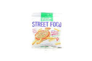Сухарики со вкусом Итальянской пиццы Street Food Flint м/у 80г